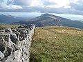 The summit wall of Mynydd Tal-y-mignedd - geograph.org.uk - 1502842.jpg