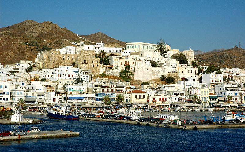 Naxos in Greek Islands