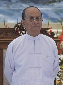 Thein Sein in taikpon jacket.jpg