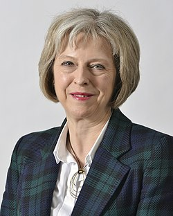 File photo of Theresa May, 2015. Image: UK Home Office.