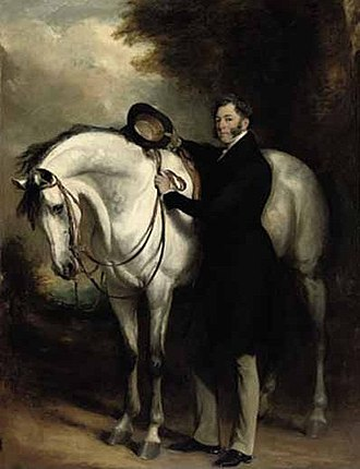 Voltigeur (horse) -  Lord Zetland, Voltigeur's owner, painted in 1841 by Francis Grant