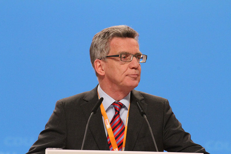 File:Thomas de Maizière CDU Parteitag 2014 by Olaf Kosinsky-6.jpg