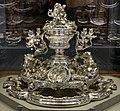 Thomas e françois-thomas germain, centrotavola del duca di aveiro, argento, parigi 1729-57, 01.jpg