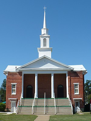 Thomaston Central Historic District - Thomaston Baptist Church, included in the Thomaston Central Historic District.
