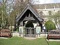 Thoresby Park Estate - entrance to Perlethorpe Churchyard - geograph.org.uk - 742773.jpg