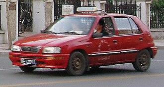 Tianjin FAW - Image: Tianjin Xiali TJ7101
