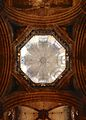 Tiburio of the Barcelona Cathedral from the nave.jpg
