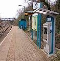 Ticket machine, Danescourt railway station, Cardiff - geograph.org.uk - 4539004.jpg