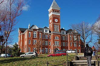 Clemson, South Carolina - Tillman Hall at Clemson University in 2008