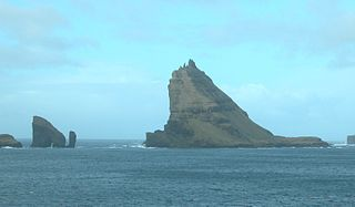 Islets and skerries in the Faroes