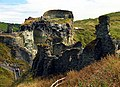 Tintagel Castle Ruins - geograph.org.uk - 217098.jpg