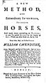 Title Page of A New Method and Extraordinary Invention to Dress Horses.jpg