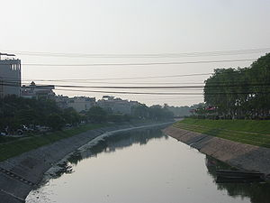 Cầu Giấy District - Tô Lịch River