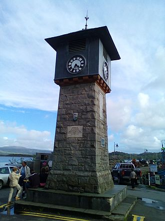 Isabella Bird - Clock tower in Tobermory built with funds donated by Isabella Lucy Bird