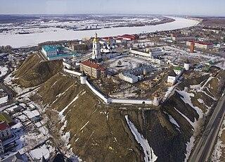 Tobolsk Town in Tyumen Oblast, Russia