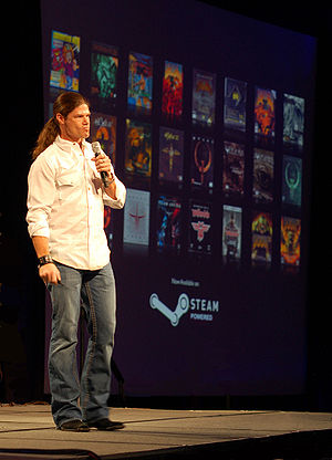 Todd Hollenshead - Hollenshead at QuakeCon 2007