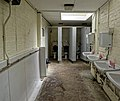 Toilets at Fenner's Field ground, Cambridge University Cricket Club, England 01.jpg