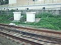 Tokaido Shinkansen electric switch machine & steal tie in near Atami station.jpg