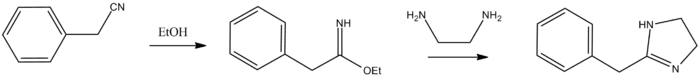 Tolazoline synthesis.png