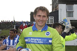 Tomasz Kuszczak - Kuszczak with Brighton & Hove Albion in 2012