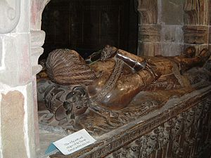 Church of St Editha, Tamworth - Tomb of Sir Thomas Ferrers and his wife Ann