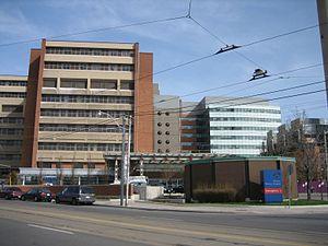 Toronto Western Hospital - Image: Toronto Western Hospital from Dundas