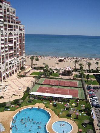 Cullera - Torres de San Antonio Resort beach, Cullera