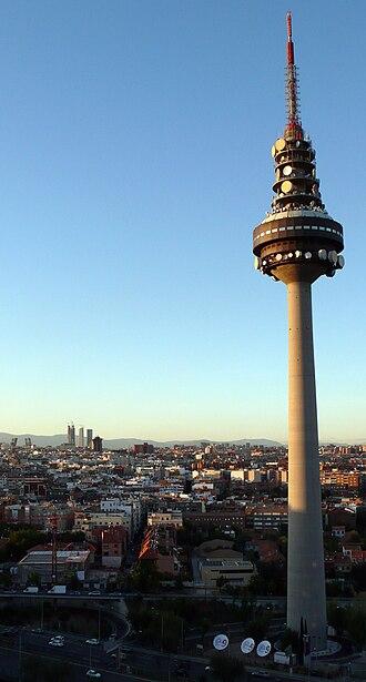 Torrespaña - Image: Torrespana Tower Madrid
