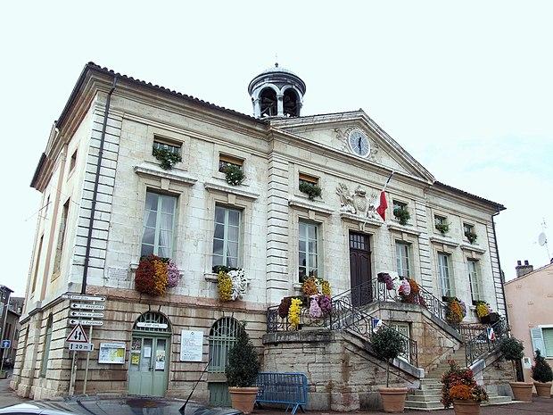 Monument historique à Tournus