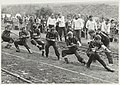 Touwtrekwedstrijd in recreatiegebied Spaarnwoude. NL-HlmNHA 54006080.JPG