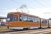 Tram in Sofia in front of Central Railway Station 2012 PD 067.jpg