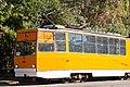 Tram in Sofia in front of Tram depot Banishora 002.jpg