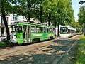 Tramway de Gand - Rames PCC 34 (6034) et 6306 à Rabot.JPG