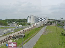 Tramway viaduct near Edinburgh Park (geograph 3505915).jpg