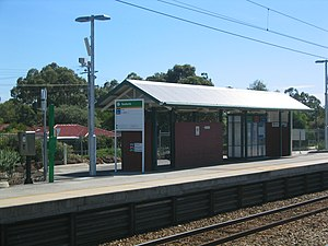 Seaforth railway station - Station in April 2005