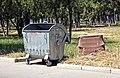 Trash bin in Rustavi.jpg