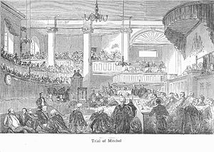 Green Street Courthouse - 1848 trial of John Mitchel