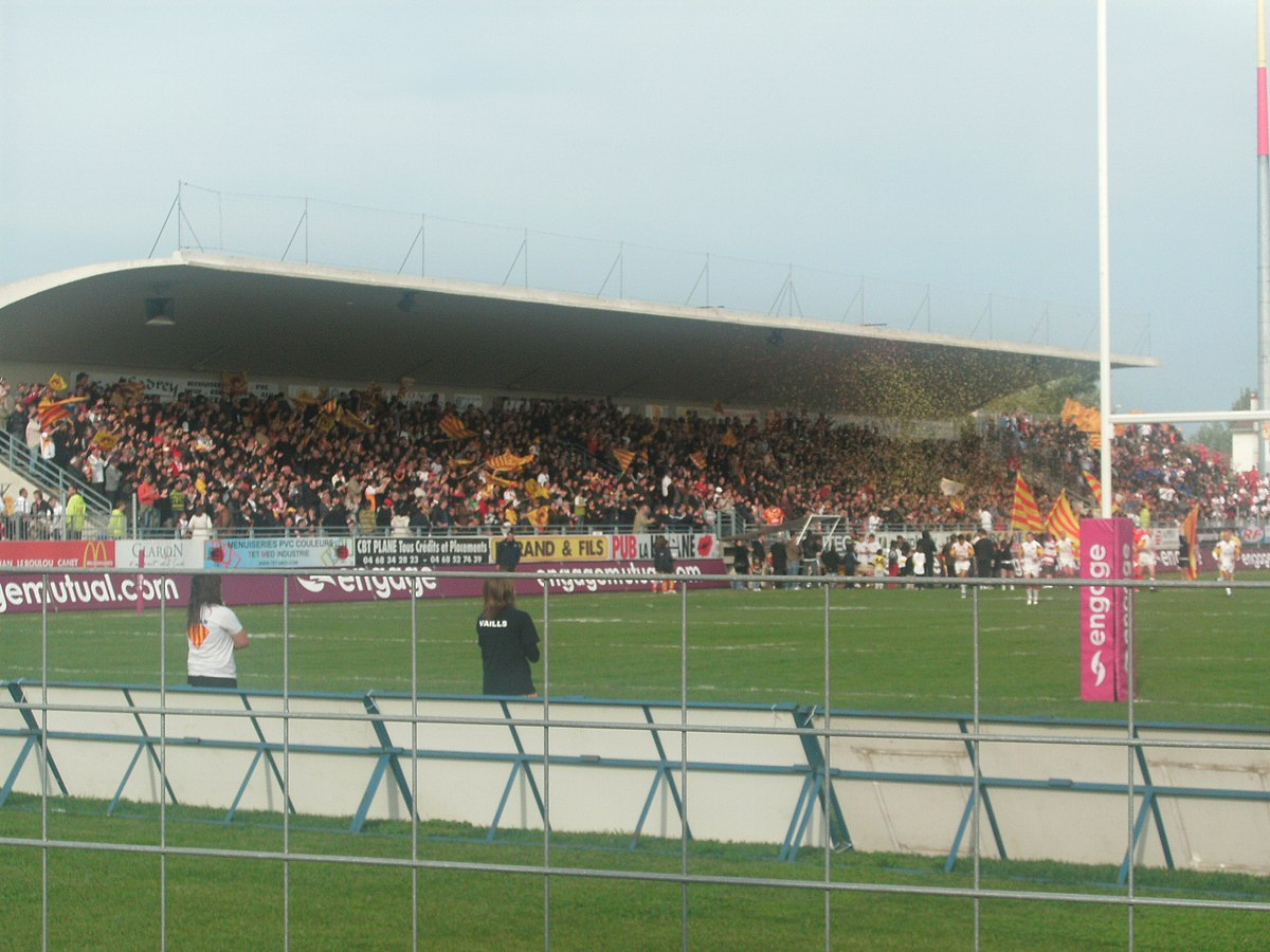 Stade gilbert brutus wikip dia - Piscine gilbert brutus perpignan ...