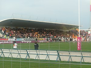 Stade Gilbert Brutus - The tribune Guasch-Laborde