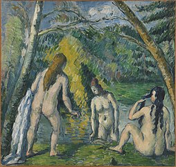 Three Bathers