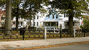 The Hill, New Haven - Houses along Trowbridge Square