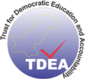 Trust for Democratic Education and Accountability Logo.png