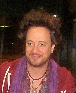 Giorgio A. Tsoukalos - Tsoukalos at New Orleans Comic Con, December 1, 2012