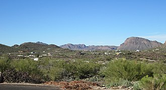 Tucson Mountains - Image: Tucson Mountains Foothills Arizona 2014 Number 2