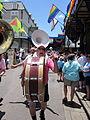 Tumblers at Pride 2010 bass drum.JPG