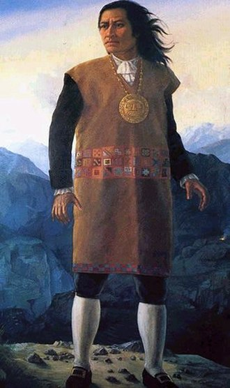 Cacique - Tupac Amaru II, Andean cacique who led a massive rebellion in 1781.