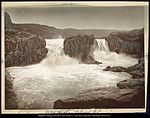 Twin Falls Snake River, Idaho C.R. Savage, Salt Lake.jpg