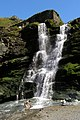 Twin cascade at Tintagel Haven - geograph.org.uk - 937393.jpg