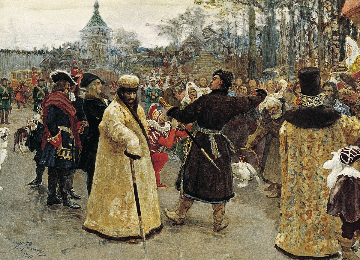 Two tsars by I.Repin (1900, GRM).jpg