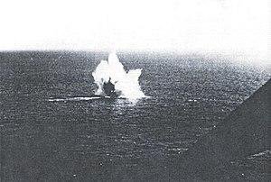 German submarine U-128 (1941) - Image: U 128 17 5 43